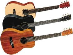 MartinLittle Martin Series Acoustic Guitar- Matt wants one of these smaller guitars so it is easier to take it with him camping, etc. It might make an excellent father's day gift.