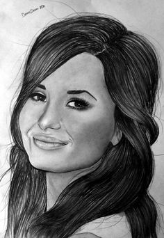 Spent my night drawing Demi Lovato, really happy with how it came out Really wanted to draw her, big respect to her, for what she went through, and now . Cool Art Drawings, Art Sketches, Hayden Williams, Female Singers, Celebs, Celebrities, Demi Lovato, Amazing Art, My Idol