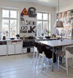 Decorated kitchen - emmas designblogg