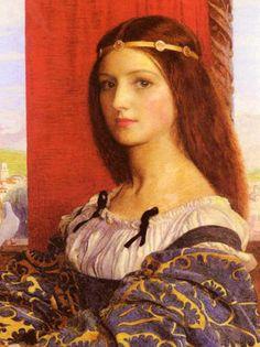 Edwin Austin Abbey- Head Of Ophelia