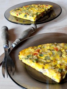 Frittata, Egg Recipes, Cooking Recipes, Yami Yami, Food And Drink, Tasty, Breakfast, Blog, Diet