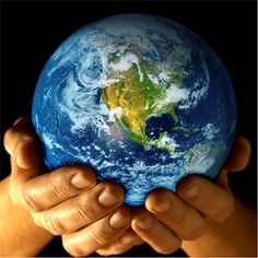 You hold the earth's future in your hands.  Earth Day images from Graphics Hunt
