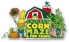 Calgary Corn Maze and Fun Farm___ Friday nights are flashlight nights! Alaska Travel, Alaska Trip, Farm Kids, Pumpkin Picking, Corn Maze, Alberta Canada, Zoo Animals, Fall Pumpkins, Calgary