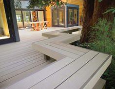 WPC Terrassendielen - Stil und Qualität! Wpc Decking, Backyard Patio, Places, Garden, Outdoor Decor, Home Decor, Dressage Horses, Exposed Beams, Plants