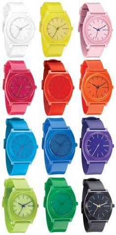 NIXON.. Love my purple time teller p