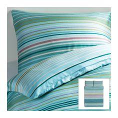 PALMLILJA Duvet cover and pillowcase(s) - Full/Queen  - IKEA