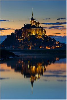 Mont Saint Michel, France Would love to go here someday!