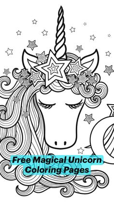 Unicorn Coloring Pages, Dog Coloring Page, Coloring Pages For Kids, Colouring, Adult Coloring, Craft Activities For Kids, Crafts For Kids, Kid Printables, Library Games