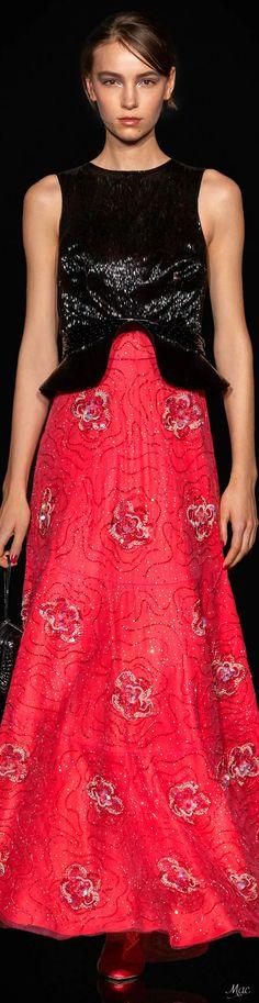 Red Fashion, White Fashion, Formal Wear, Formal Dresses, Red Cake, Red Handbag, Armani Prive, Catwalk, Giorgio Armani