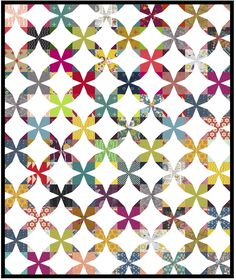 Wanta Fanta Quilt Tutorial.  With link to FREE pdf pattern and tutorial