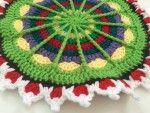 Stitchhikers Crochet Contribution to Mandalas for Marinke |