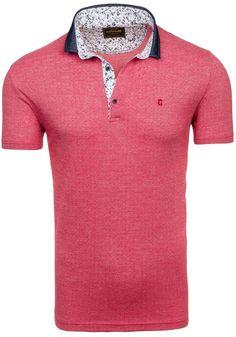 Pánská polokošile COMEOR 4813 červená ČERVENÁ   Pánská móda \ Pánské polokošile   Bolf - Internetový Obchod s Oblečením   Oděv   Oblečení   Kabáty   Bundy