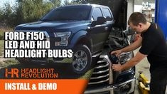 2015 - 2017 Ford F150 LED and HID Bulb Upgrades - Install and Comparison... Hid Headlights, Headlight Bulbs, Revolution, Ford
