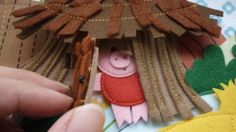 3 Little Pigs story as a Quiet Book