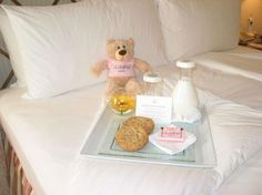 **The Beverly Hills Hotel...A fabulous sweet treat specially prepared for our Jr. VIPS at the Pink Palace!