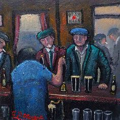 James Downie - Having A Pint At The Local Pub