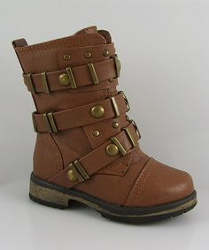 Look at this #zulilyfind! Tan Alisia Boot by Link #zulilyfinds