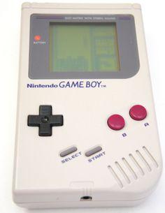 Nintendo Game Boy Gray Handheld System DMG-01 with Tetris #Nintendo
