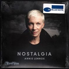 """Nostalgia"", the sixth studio album by Scottish singer-songwriter Annie Lennox, peaked at #1 on Billboard's Top Jazz Albums and #10 on Billboard 200 as well as numerous other charting around the world.  The album consists of cover versions of compositions from the ""Great American Songbook""; researched and learned by Lennox as she studied archival footage uploaded to YouTube. The album is nominated for Best Traditional Pop Vocal Album at the 57th Grammy Awards. (Vinyl LP)"