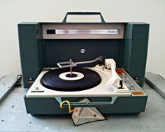 Vintage GE Stereo Wildcat Record Player by DollFood on Etsy, $255.00