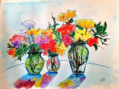 My watercolor.