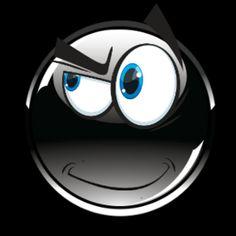 Smiley Emoji, Cute Emoji, Funny Emoticons, Emoji Symbols, Fire Heart, Cartoon Art, Funny Images, Black And Grey, Gifs