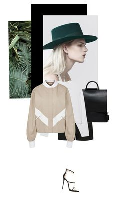 """""""Yes No"""" by no-body on Polyvore featuring Yves Saint Laurent, Acne Studios, Adeam and Giuseppe Zanotti"""