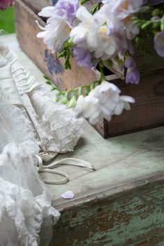 silk flowers and whimsy