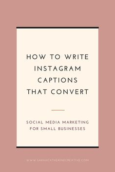 #scc Instagram tips for small businesses: Writing captions for Instagram can be hard. Today I'm sharing how to write Instagram captions that convert what to write, formatting advice, and caption prompts to help you get started. Instagram content tips for creatives. #socialmedia Instagram Story Template, Instagram Story Ideas, Instagram Tips, Instagram Posts, Social Media Tips, Social Media Marketing, Digital Marketing, Business Tips, Business Writing