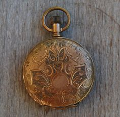Your place to buy and sell all things handmade Old Pocket Watches, Pocket Watch Antique, Pendant Watch, Antique Watches, Watch Case, Gold Watch, Keys, Jewelery, Buy And Sell