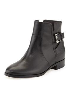 X294P MICHAEL Michael Kors  Salem Leather Bootie