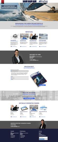#Ultrapixel hat einen #Relaunch vom Kundenprojekt KruCon durchgeführt. #Webdesign aus Hagen, #ResponsiveDesign, #Concrete5. Hagen, Projects