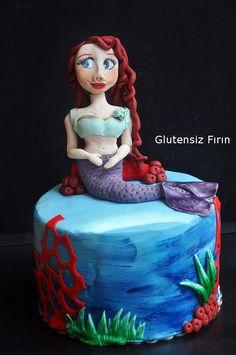 Glutenfree Mermaid Cake