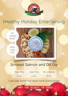 Smoked Salmon and Dill Dip > Brancourts