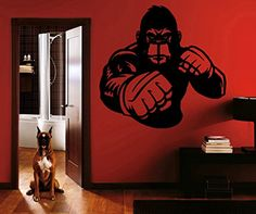 Ik1397 Wall Decal Sticker Kick Boxing Boxing Ring Gloves Tournament Gym StickersForLife http://www.amazon.com/dp/B00Z3B1YR4/ref=cm_sw_r_pi_dp_CPeDvb09XFQQC