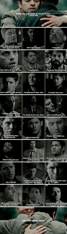 """""""cas is family"""" is honestly enough for him i bet"""