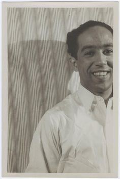 Langston Hughes (photographed by Carl Van Vechten)