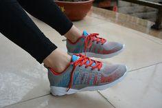women fashion sneaker,knit fabric style.