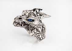 https://www.etsy.com/listing/467621405/flash-sale-house-of-targaryen-ring-game #dragon #jewelry #gameofthrones