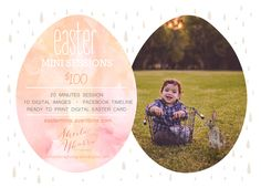 Easter Mini Sessions | Sheila Ybarra Photography | San Antonio Photographer | Child Photographer | Bunny Session | Outdoor Session | http://easterminis.eventbrite.com
