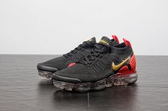 bd2c4bac6e7e Mens Womens Nike Air Max Vapormax Flyknit Black Pink New Arrival Nike Air  VaporMax 2 Cheap Priced