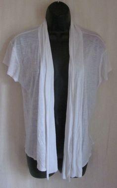 JKLA California Women's Ivory Short Sleeve Drape Top M Medium #JKLA # ...
