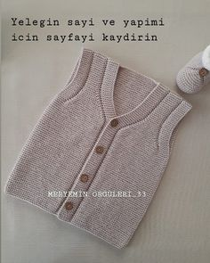 Baby Knitting Patterns, Hairstyle Trends, Tricot Baby, Knit Vest, Moda Emo, Models, Couture, Knit Crochet, Instagram