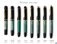 Page 1 of 2 - 20 German Pens From The 50S-60S That Show The Pervasiveness Of Pelikan Style - posted in Pelikan: I would like to have a strong line-up of black German piston fill pens from the 50s-60s that show the pervasiveness of the Pelikan style. Here is what I have so far. Some are a little weak and I will search out better examples. Brause 3032 Tropen Gold Senator Ero Erst Beste Matador Geha Lamy Kaweco Metropol MB Soenecken Reform. But my need right n...