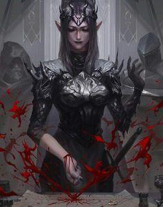 An infernal contract being signed Fantasy Characters, Fantasy Artwork, Vampire Art, Character Portraits, Fantasy Art, Female Art, Fantasy Character Design, Art, Dark Fantasy Art