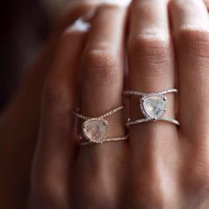 Double Band Rings – Luna Skye by Samantha Conn