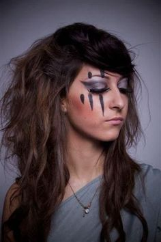 Female Viking Warrior Makeup | Found on jodie-knott.wix.com