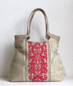 positioning makes a difference Tote Handbags, Purses And Handbags, Laura Ashley, Slouch Bags, Burlap Bags, Latest Handbags, Diy Handbag, Craft Bags, Linen Bag