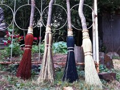 Besoms and broomsticks