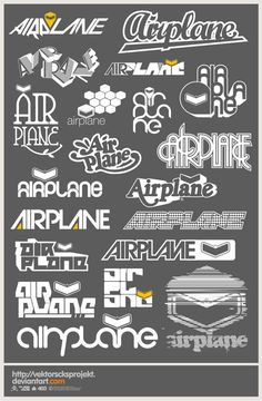 Airplane Logotype by ~vektorscksprojekt